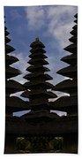 Bali Water Temple Beach Towel