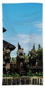Bali Wayer Temple Beach Towel