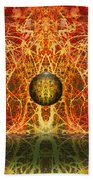 Ball And Strings Beach Towel by Otto Rapp