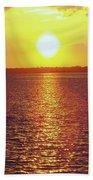 Ball Of Fire Beach Towel