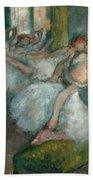 Ballet Dancers Beach Towel