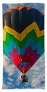 Balloon At Sunrise Beach Towel