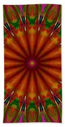 Balloon Kaleidoscope Beach Towel
