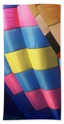 Balloon Patterns Beach Towel
