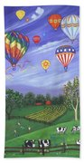 Balloon Race One Beach Towel