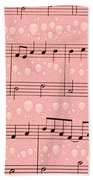 Balloons And Music Beach Towel