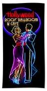 Ballroom Dancing Sign Beach Towel