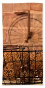 Balls In The Basket Beach Towel