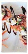 Balsamic Salad Beach Towel