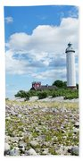 Baltic Sea Lighthouse Beach Towel