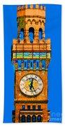 Baltimore Clock Tower Beach Towel
