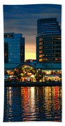 Baltimore Harborplace Light Street Pavilion Beach Towel