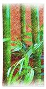 Bamboo #1 Beach Towel
