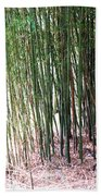 Bamboo By Roadsides Cherry Hill Roadside Greens            Beach Towel