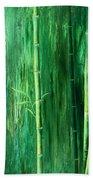 Bamboo Forest Beach Towel