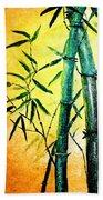 Bamboo Magic Beach Towel by Nirdesha Munasinghe