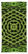 Bamboo Symmetry Beach Towel