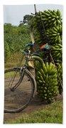 Banana Bike Beach Towel