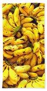 Banana  Beach Towel