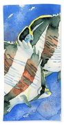 Banded Butterflyfish Beach Towel