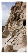 Bandelier Caveate - Bandelier National Monument New Mexico Beach Towel