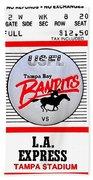 Bandit Ball Beach Towel by Benjamin Yeager