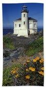 Bandon Lighthouse Beach Towel