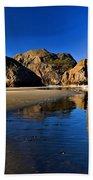 Bandon Low Tide Reflections Beach Towel