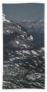 Banff Alberta Canada Beach Towel