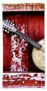 Banjo Mandolin - American Music Beach Towel
