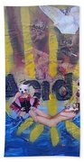 Baptism In Acid Beach Towel