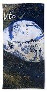 Barack Obama Pluto Beach Towel by Augusta Stylianou