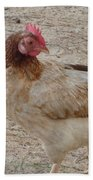 Barbados Free Range Chicken Beach Towel