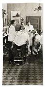 Barber Shop, 1920 Beach Towel