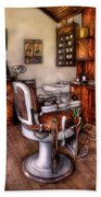 Barber - The Barber Chair Beach Sheet