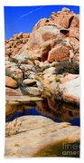 Barker Dam Big Horn Dam By Diana Sainz Beach Towel