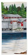 Barkhouse Boatshed Beach Towel