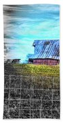 Barn 23 - Featured In Comfortable Art  And Artists Of Western Ny Groups Beach Towel