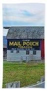 Barn - Mail Pouch Tobacco Beach Towel