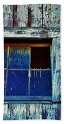 Barn Window 1 Beach Towel