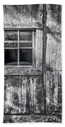 Barn Window Beach Towel