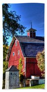 Barn With Out-sheds Brunner Family Farm Beach Towel