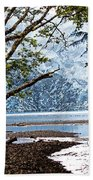 Barnes Creek At Lake Crescent - Washington Beach Towel