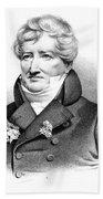Baron Georges Cuvier (1769-1832) Beach Sheet