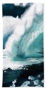 Barreling Storm Beach Towel