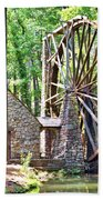 Berry College's Old Mill - Square Beach Towel