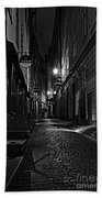 Bars In The Alley Beach Towel