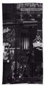 Bars On Broadway Nashville Beach Towel by Dan Sproul