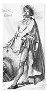 Bartholomew Columbus (c1445-c1514) Beach Towel