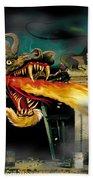Barton The Mutant Salamander Beach Sheet